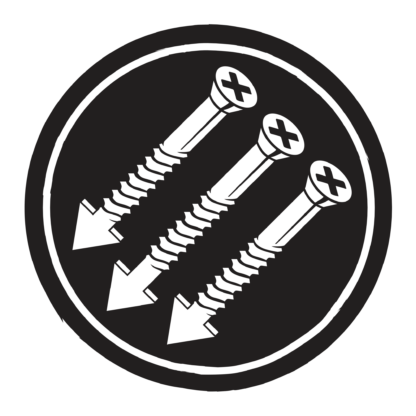 Circular SAFC Logo with black background