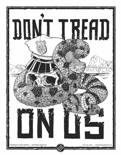 Don't Tread on Us Poster Preview